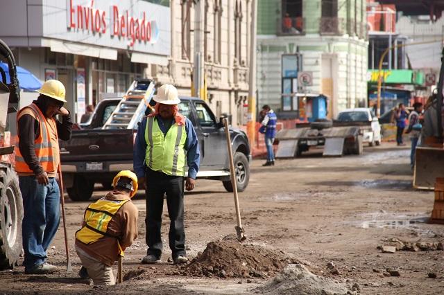 En julio perdió Puebla 85 empleos diarios en el ramo constructor