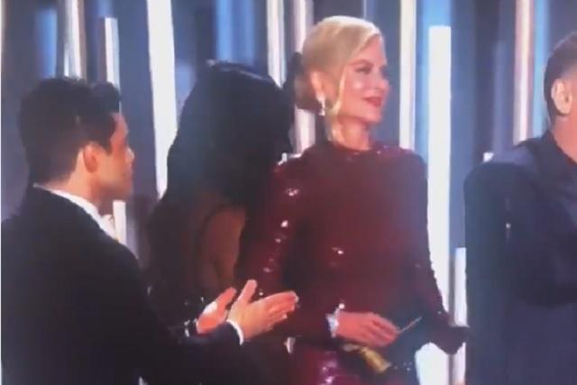 Este fue el momento más incómodo de la gala de los Globos de Oro