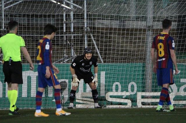 Ramón Juan es histórico; primer portero en atajar 2 penales al Barcelona