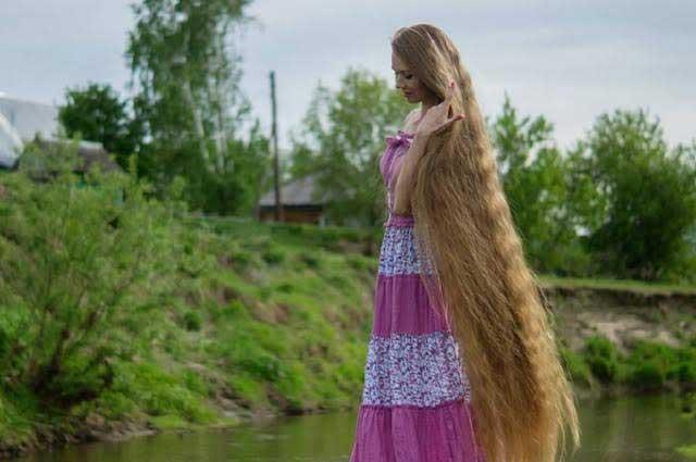 ¿Rapunzel?: conocé a la mujer con la cabellera más larga del mundo