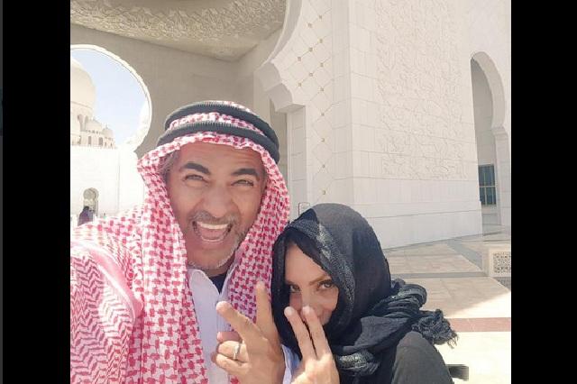 Raúl Araiza y su esposa pasan momentos felices en Dubai