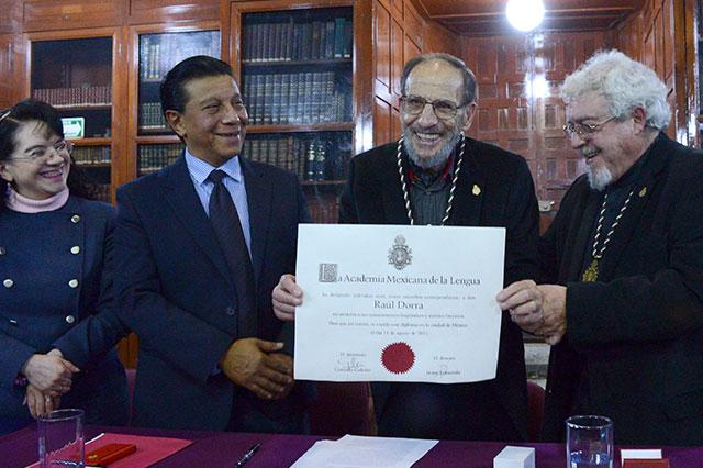 Fallece Raúl Dorra, reconocido lingüista y literato de la BUAP