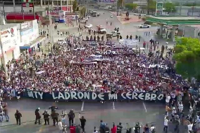 Seguidores de Rayados dicen que sólo repelieron agresión