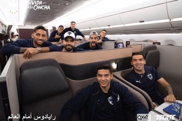 Rayados viajan a Qatar para el Mundial de Clubes