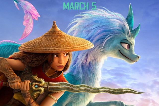 Disney presenta nuevo trailer de Raya y el último dragón