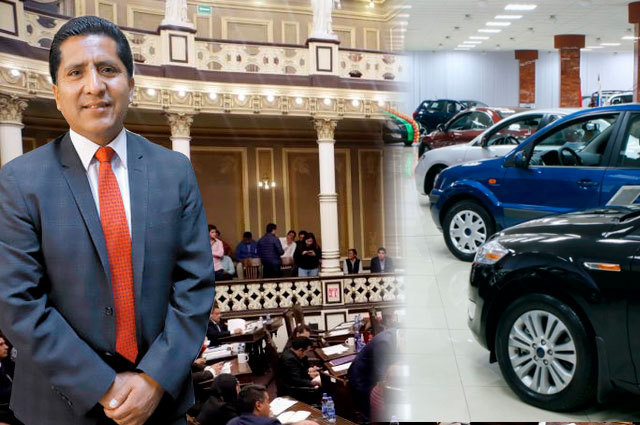 Congreso remata autos… los vende a diputado y empleados