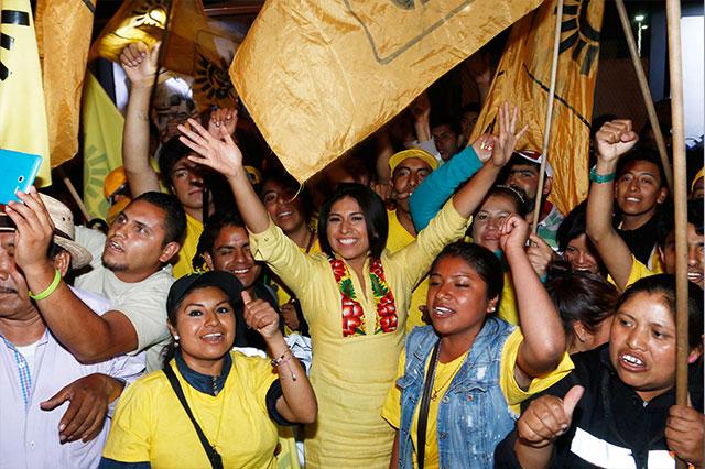 Destacan candidatas que libraron censura y Gali lamenta ataques