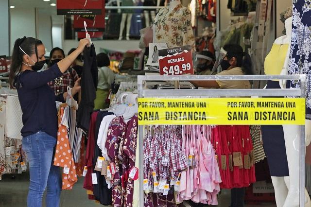 Ignoran comercios operar al 30% de capacidad en Puebla