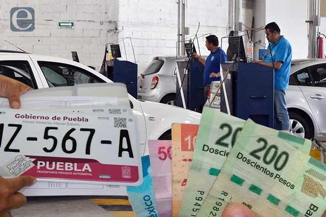 Vuelve la verificación a la par que el reemplacamiento en Puebla