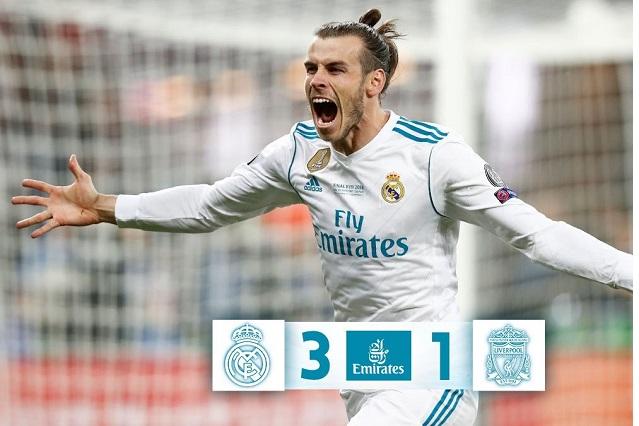 Real Madrid es tricampeón de la Champions League