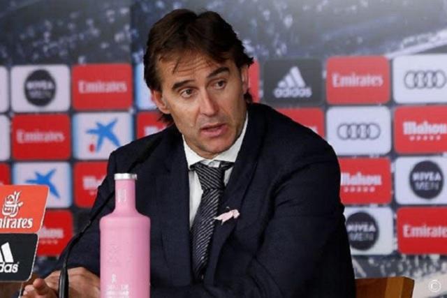 Se acerca el adiós de Julen Lopetegui como técnico del Real Madrid