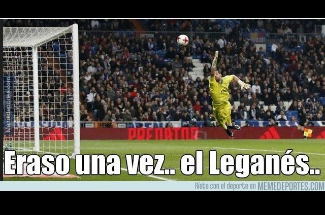 El Leganés le pega al Real Madrid y los memes golpean a los blancos
