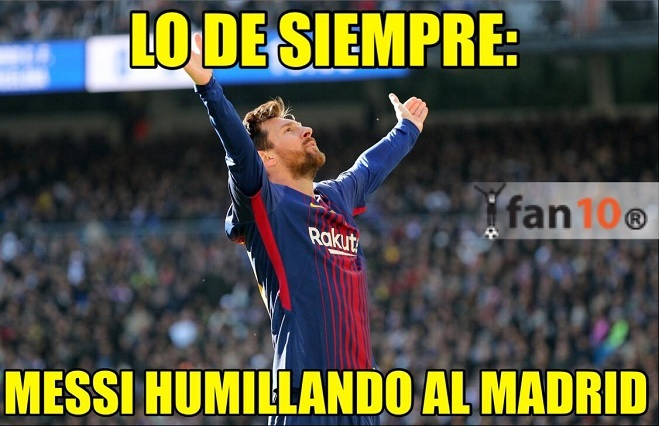 Barcelona humilla al Real Madrid y los memes sepultan a los blancos
