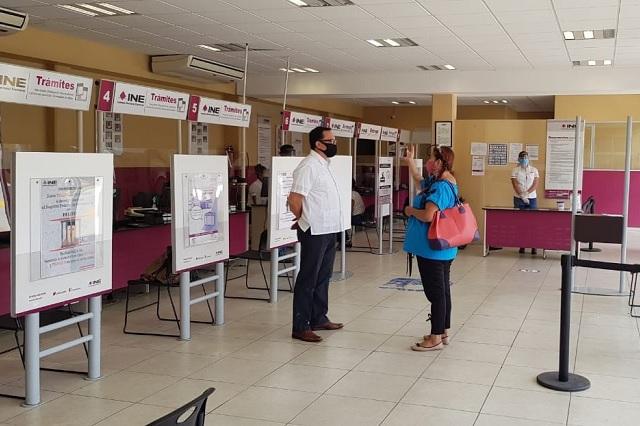 Reanudará INE entrega de credenciales el 3 de agosto