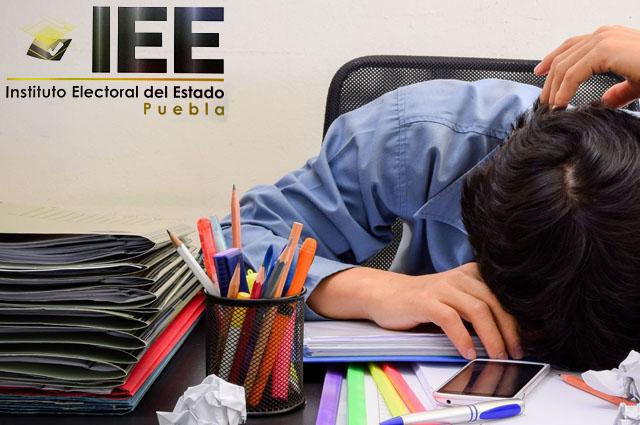 Ineficiencia del IEE entorpece inicio de campaña y candidaturas