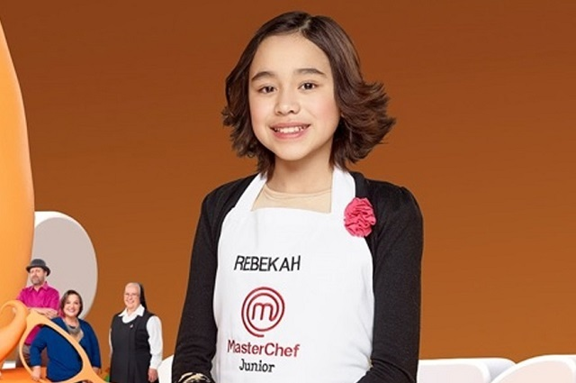 Así se ve Rebekah, ex participante de MasterChef Junior