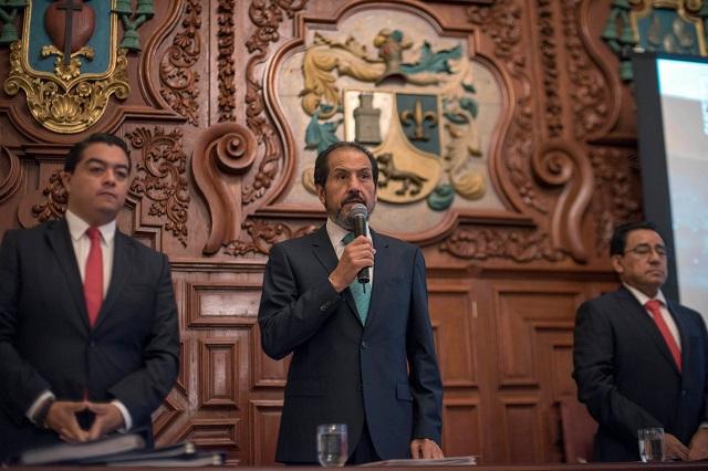Aprueba Consejo Universitario informe de Esparza Ortiz y respalda su gestión