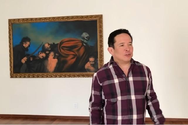 Esta es la recamara donde dormían Peña Nieto y Angélica Rivera