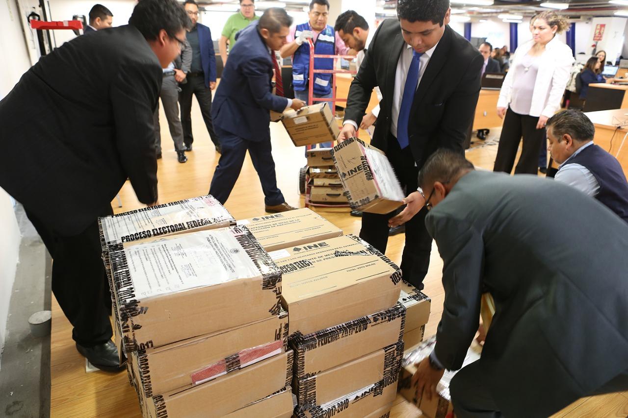 Resguarda TEPJF paquetes con votos de mexicanos en el extranjero