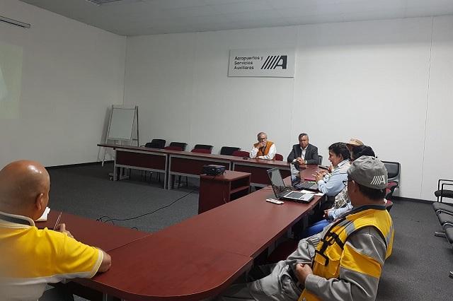 Aeropuerto Hermanos Serdán busca recertificación en calidad ambiental