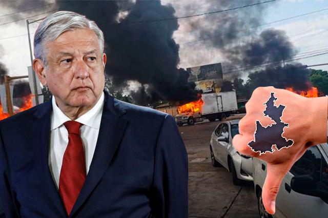 Crisis de Sinaloa provoca en Puebla severas críticas a AMLO