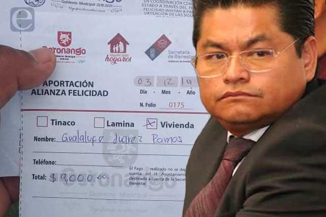 Ayuntamiento de Coronango estafó a señora con 9 mil pesos