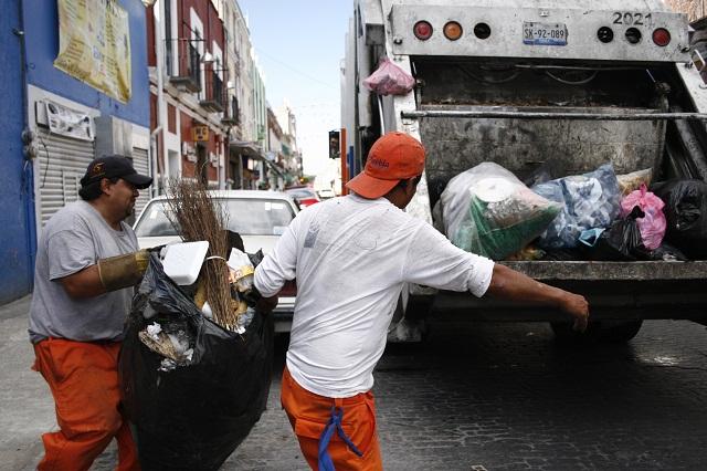 Servicio de limpia se restablecerá este sábado informa el OOSL