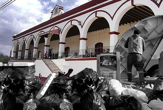 Dejan sin camiones y recolección de basura a municipios en Puebla