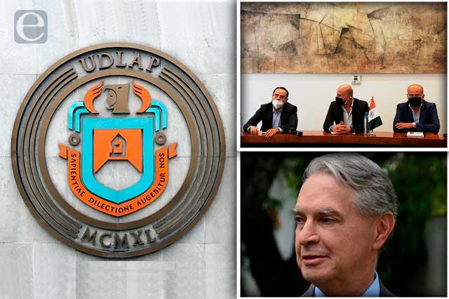 Desconocen reinstalación de Derbez en la UDLAP
