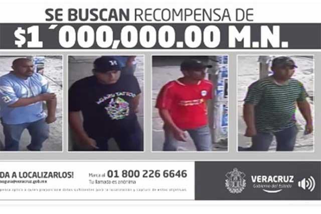 Ofrecen 1 mdp por los asesinos de jefe policiaco en Veracruz