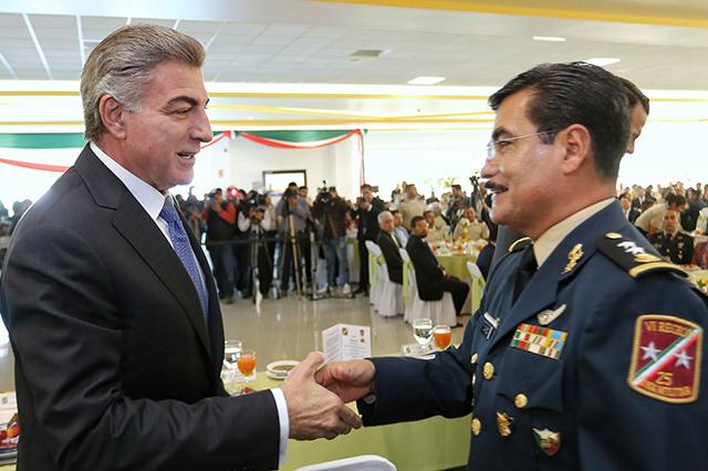 Gali reconoce labor, compromiso y dedicación del Ejército Mexicano