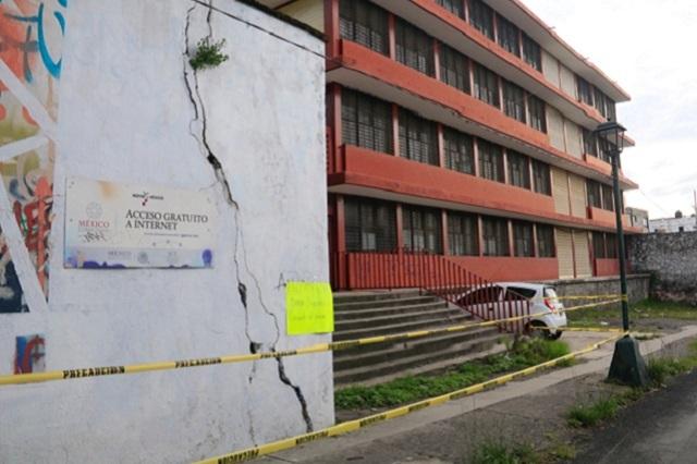 A Puebla 102 mdp para atender 36 escuelas dañadas por 19-S