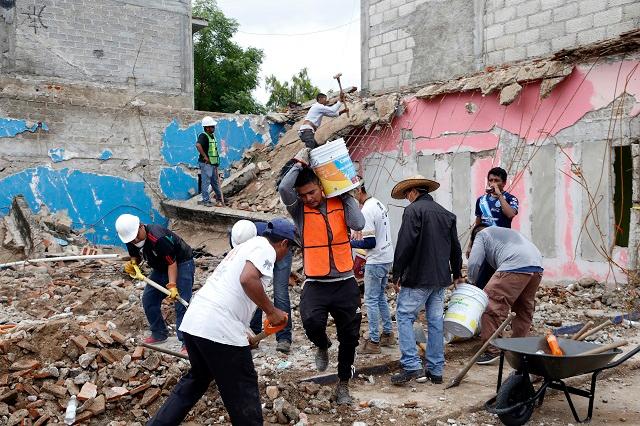 Se han reconstruido 96 casas en municipios afectados por el sismo