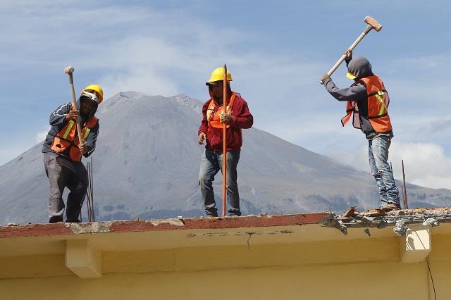 Dejan 700 mdp a socios de CMIC las obras de reconstrucción