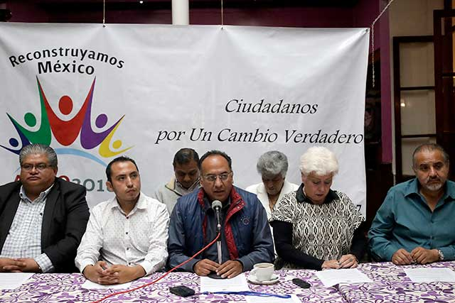 Dicen experredistas que apoyan a Morena pero no piden candidaturas