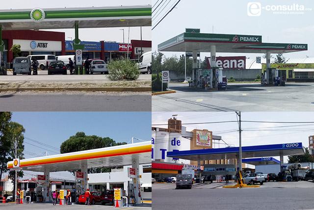 Gasolineras extranjeras se roban a los clientes de Pemex