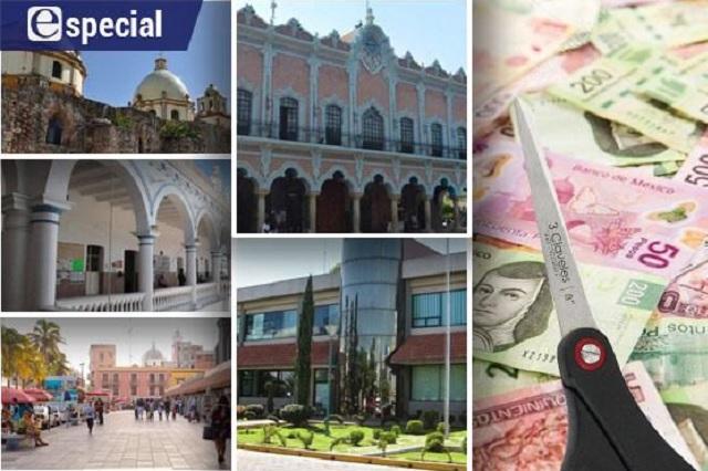Hasta 50% bajan salarios ediles de Puebla por crisis de Covid