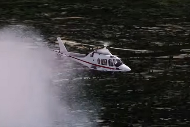 Recrean accidente en helicóptero de los Moreno Valle