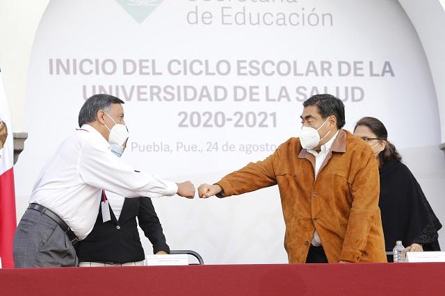 Universidad de la Salud, proyecto de gobiernos de la 4T: Barbosa