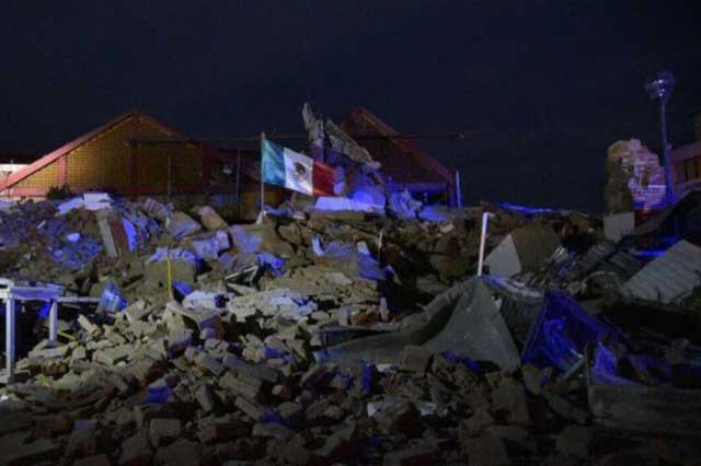 Van 266 réplicas del terremoto; la mayor de 6.1