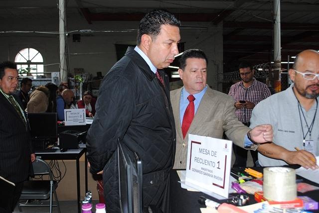 Realiza el TEEP recuento parcial de la elección en Chiconchuautla