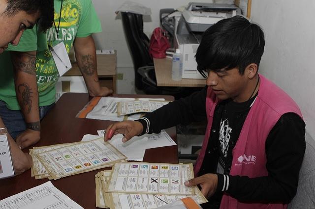 Inicia TEEP recuento total de votos de la elección de alcalde en Atlixco