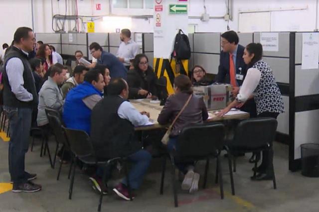 Comienza TEPJF el recuento total de votos de la elección de Puebla
