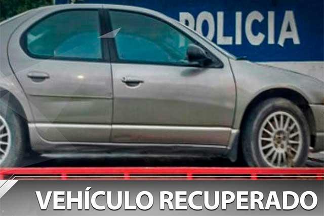 Localiza 10 autos robados Seguridad Municipal de Puebla