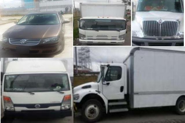 Policías estatales recuperaron seis vehículos robados