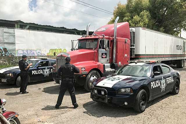Se duplican en un año robos a camiones de carga en Puebla