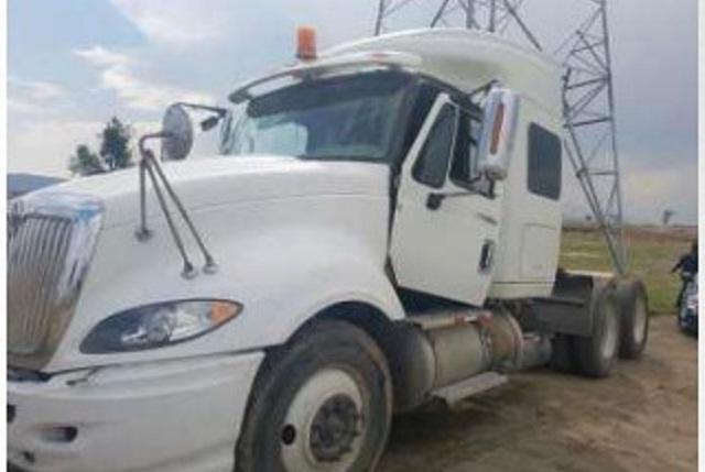 Recuperan camiones robados en distintos municipios