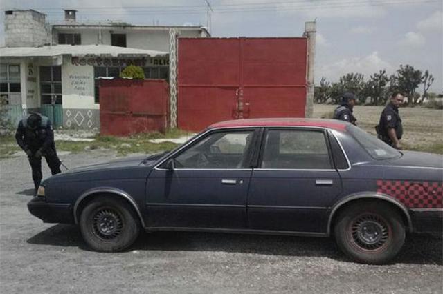 Policía Estatal recuperó tres vehículos, uno con reporte de robo