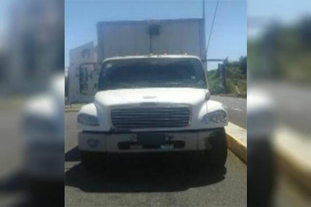 Policía Estatal recuperó dos vehículos con reporte de robo