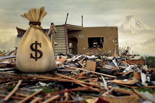 Desastres naturales absorben  casi 2 mil mdp en 6 años